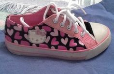 HELLO KITTY SNEAKERS SZ 11 :) #HelloKitty #Athletic