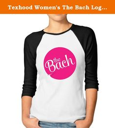 Texhood Women's The Bach Logo Customized 100% Cotton 3/4 Sleeve Raglan Tee Shirt Black S. S: Bust: 48cm Length: 72cm\r\nM: Bust: 51cm Length: 74cm\r\nL: Bust: 53cm Length: 76cm\r\nXL: Bust: 55cm Length: 78cm\r\nXXL: Bust: 58cm Length: 82cm\r\nCUSTOMER SATISFACTION GUARANTEE: Not The Sizes You Wanted? Something Wrong With Color?\r\nPlease Message Us Anytime For Whatever Inquiries, We Are Here To Listen To Your Inquiry And All We Want Is Not Just Sales, But Earning A GREAT CUSTOMERS Like You…