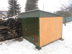 Voliéra pre psa 2 x - KvalitneVoliere. Shed, Outdoor Structures, Sheds, Tool Storage, Barn