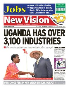 Get a copy of the #NewVision and see a variety of jobs lined out for you: https://vpg.visiongroup.co.ug/flippaper/personal/