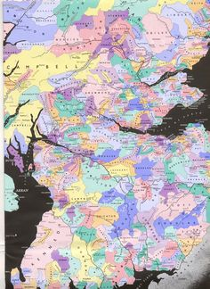 Scottish Clan Map - if this is accurate, there is Crawford (Craufur) wrapped around Stewart and adjacent to Kennedy