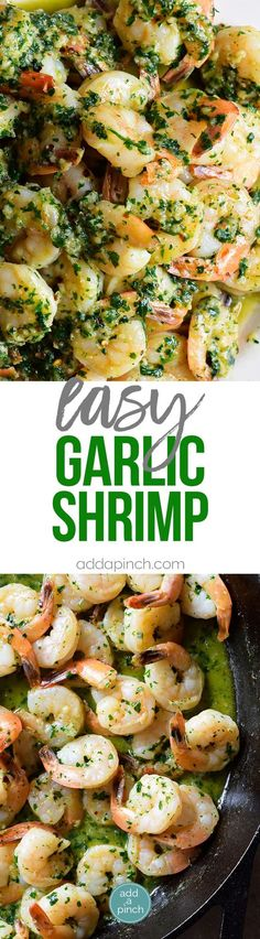 Unwind after a long hump day with this easy but oh so tasty Garlic Shrimp Recipe!