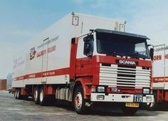 112 M BN-96-VN C Olsthoorn  Scania Aadje Van Velzen. met deze werd vaak met twee man naar Oostenrijk gereden.[1]