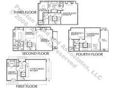 luxury brownstone floor plans | luxury townhouse floor plans