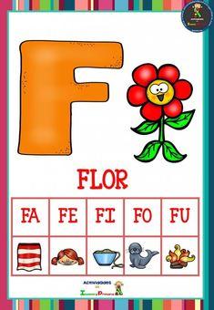 Preschool Learning Activities, Spanish Activities, Kids Learning, Early Literacy, School Colors, School Resources, Phonics, Elementary Schools, Digimon