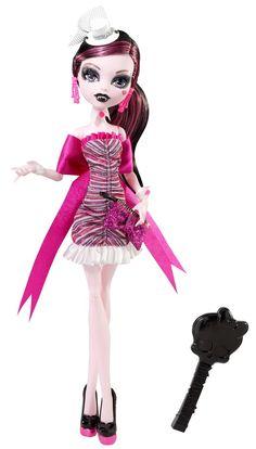 Draculaura de Monster High chica romantica mejor amiga de Clawdeen Wolf y de Frankie Stein y novia de Clawd Wolf New Monster High Dolls, Monster High Art, Love Monster, Monster High Custom, Ever After High, Personajes Monster High, Ever After Dolls, Mattel, Dream Doll
