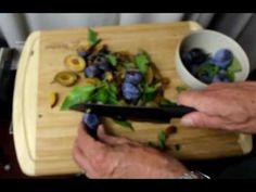 B01H3O751C  TopChefDeFrance Santoku - Couteau du Chef en céramique noire...