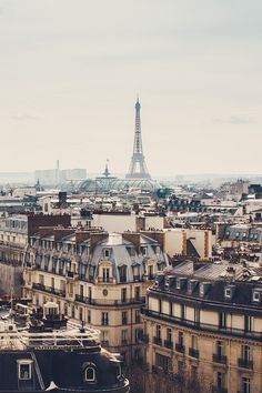 Paris from a above<3