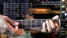 EASY Cool 12 Bar Blues Guitar Intro #1 Learn In 4 Minutes EricBlackmonMu...
