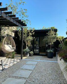 Backyard Patio Designs, Small Backyard Landscaping, Backyard Retreat, Back Garden Design, Garden Landscape Design, Back Gardens, Outdoor Gardens, Hot Tub Garden, Sky Garden