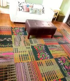 Our new #Flor carpet tiles..Love them!