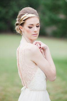 Romantic wedding gown inspiration by Leanne Marshall.  #champagnenw #oregonweddings #weddinggown #bridalinspiration