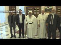 Papa se reúne con el jefe de los yazidíes, la minoría perseguida por el Estado Islámico