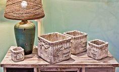 O serie nou de ghivece si decoratiuni pentru gradina a sosit la Retro Boutique: http://www.retroboutique.ro/decoratiuni/