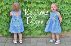 We just returned from the beach last night, and I'm still trying to get the house straightened out and sand free. (This could take days!) I know quite a few people have been on vacation lately as well, so just in case you missed it. Here is the sewing part of the Keyhole Dress that…