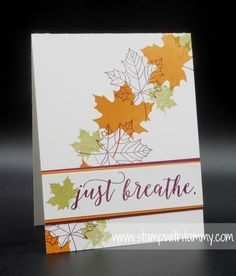 Colorful Seasons, Stampin' Up!, Stampwithtammy