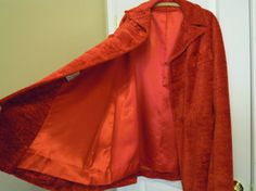 Vintage Cape Swing Coat Poncho Cloak Mar Del by Rice Womens Christmas Red Opera Boho Hippie Medium Large