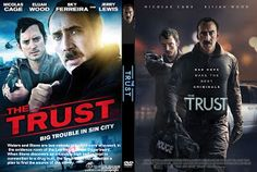 Mega Covers Gtba: The Trust (2016) R0 - Cover & Label DVD Movie