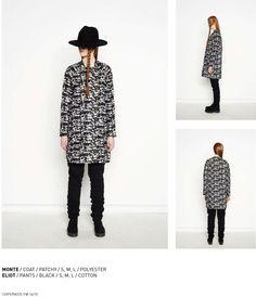 nenukko.com #patterned #coat