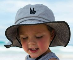 Just in the boys Xavior Floppy. The perfect hat for Kindy or School! Plus the colour will match all outfits. Sun Hats, Bucket Hat, Grey, Boys, Fun, Colour, School, Outfits, Ash