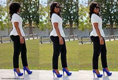 Curves and Confidence | Miami Fashion Blogger: Royal Rival