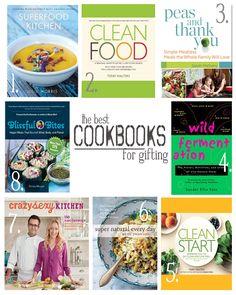 The best cookbooks for gifting (vegetarian, vegan & gluten-free)