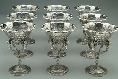 Jeffrey Herman Silversmith: Before & After (Rare Tiffany Sterling Custard Cups)