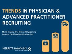 Trends in #Physician and Advanced Practitioners Recruiting by Merritt Hawkins via Slideshare #nurse #practitioners #compensation   http://www.merritthawkins.com