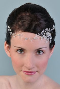 Hair Vine #bridal #jewelry #headpiece