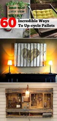 60 Awesome Ways To Reuse Wooden Pallets