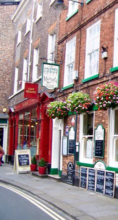 Cafe Rouge,The Galtres Lodge Hotel,& Michael's Brasserie in York,England