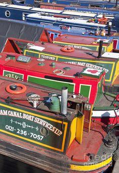 Birmingham boats -- Birmingham, England