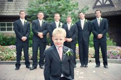 Cute idea to make the ring boy feel important...love it!
