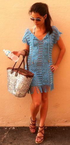 Crochet Cover Up <3