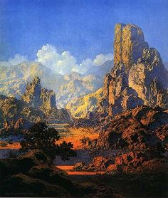 Maxfield Parrish ~ Arizona