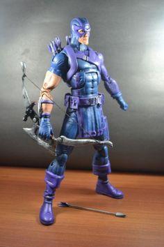 "Hawkeye (12""Heroic Age) (Marvel Icon) Custom Action Figure"
