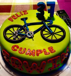 Tata-Sabores.  Tortas & Postres. Torta Bicicleta. Bike Cake