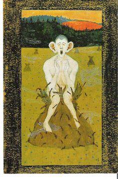 """Frost"" by Hugo Gerhard Simberg June 1873 - 12 July was a Finnish symbolist painter and graphic artist. Fine Art Prints, Canvas Prints, Heritage Image, Dark Art, Art Reproductions, Art Images, Art Lessons, Art Museum, Illustration Art"