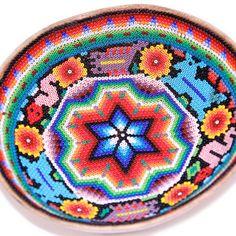 (2) Fab.com   Huichol Prayer Bowl II