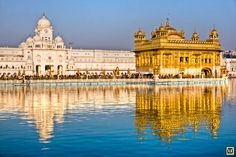 People at Golden Temple in Amritsar, Punjab, India.
