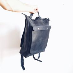 This beautiful Leather Backpack handmade with LOVE & PASSION to make you…