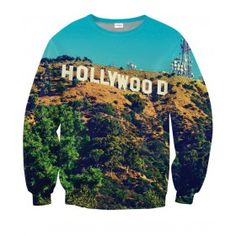 HOLLYWOOD Bluza Full Print 3D Bez Kaptura