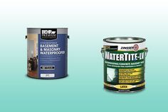 Seal water out of your basement in spring: Your roof isn't the only entry point for water that can severely damage your home. Short of installing a new drainage system, there are certain measures you can take to keep your basement dry. Seal your basement walls with waterproof masonry paints like BEHR PREMIUM Basement & Masonry Waterproofer (left) or ZINSSER WATERTITE-LV Waterproofing Concrete Masonry Paint (right), about $25 a gallon.