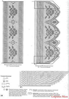 Кайма-3 - Филейное кружево - Страна Мам