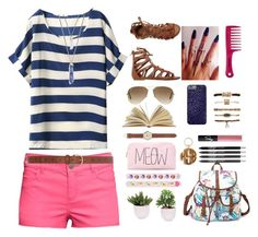 """""""summertime"""" by erycaah ❤ liked on Polyvore"""