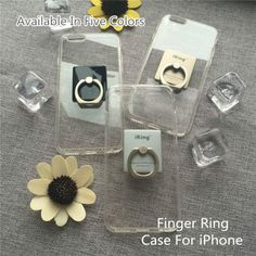 For iphone 5s Case 5 Cover Phone Cases Silicon Finger Ring Support Transparent Fashion Original Design iRing 2016 Free Shipping,High Quality case ,China phone case Suppliers, Cheap phone case from Jelly Beans' case shop on Aliexpress.com