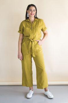 Blanca Flight Suit | Boiler Suit Pattern | Coveralls Pattern – Closet Case Patterns