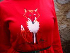 Rochie rosie foxy unicat (160 LEI la diana-ribana.breslo.ro)