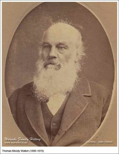 Thomas Moody Walker was born in Frampton, Lincolnshire, England, on 6 May 1800 and baptized there the following day. He was 77 when he died on the corner of Robert and Wakefield Street, Adelaide, South Australia, on 22 Mar 1878.