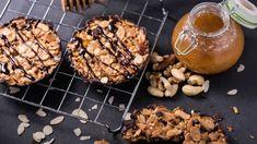 Ingredients:  • 75g/3oz Odlums Porridge Oatflakes • 2 x 150g Chocolate Covering (Milk/Dark as preferred) • 75g/3oz Margarine • 125g/4oz Caster Sugar • 1 Egg (beaten) • 25g/1oz Walnuts (chopped) • 75g/3oz Cherries (chopped) • 75g/3oz Sultanas